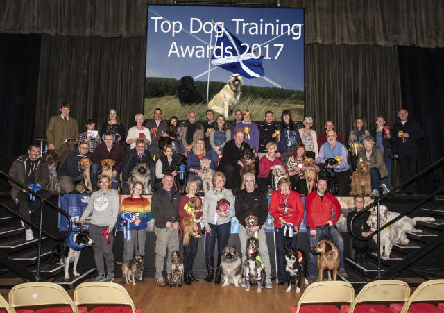 Top Dog Training Awards night 2017